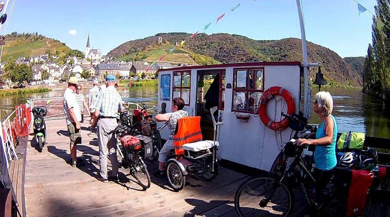 Mit dem Rad entlang an Flüssen und auf alten Bahntrassen Teil 9