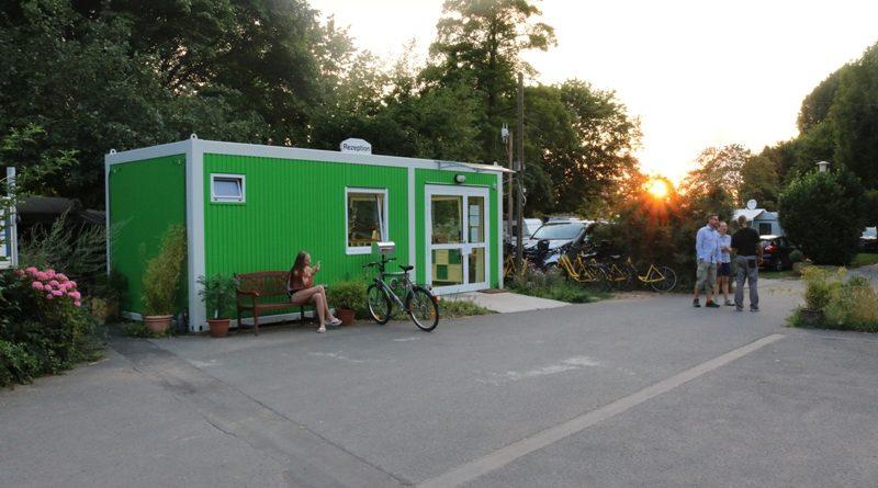 Anmeldung zum Campingplatz Stadt Köln