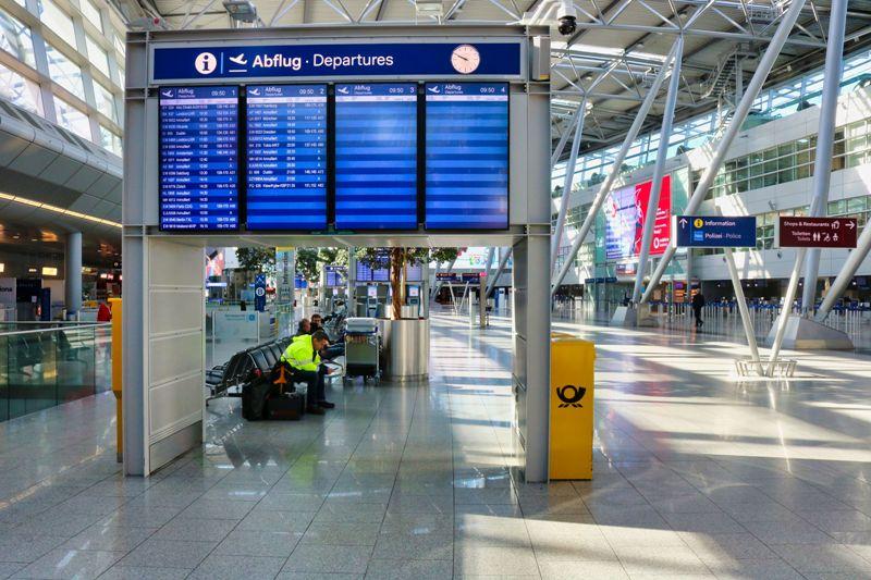 Flughafen Düsseldorf im Würgegriff