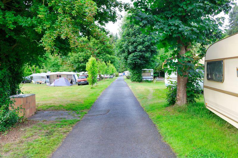 Campingplatz Auf Der Au