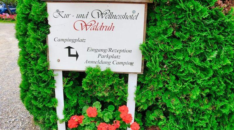 Campingplatz Waldruh in Bad Kohlgrub